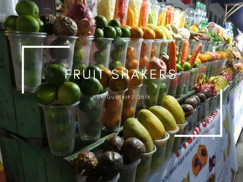 FRUIT SHAKERS