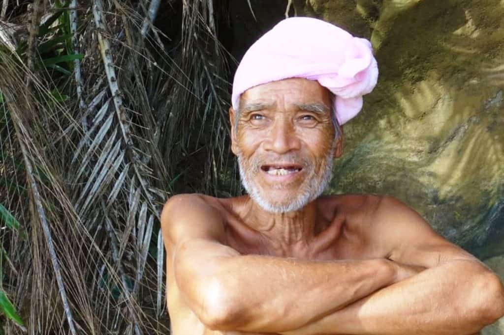 Unique people: He lived naked for 29 years