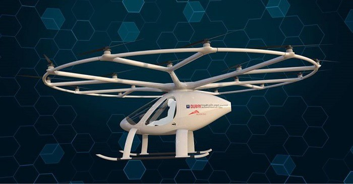 Flying taxis are coming
