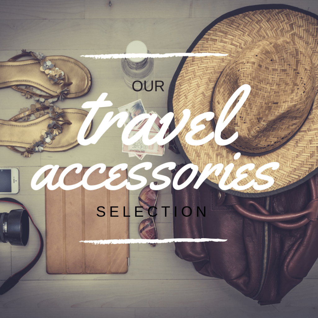 equipment for trips travelling